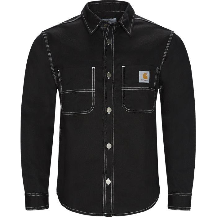 Chalk Shirt - Skjorter - Regular - Sort
